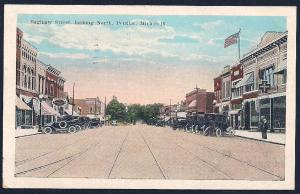 Saginaw Street Pontiac Michigan used c1923