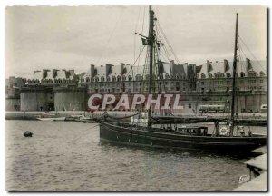 Modern Postcard St Malo Yachts Basin to