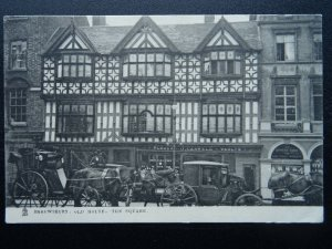 Shropshire SHREWSBURY Old Houses THE SQUARE c1905 Postcard by Raphael Tuck 2019