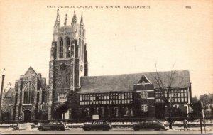 Massachusetts West Newton First Unitarian Church
