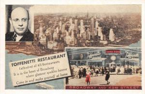 8023  NY Times Square  Toffenetti Restaurant