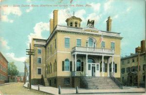 Postcard Salem Custom House, Salem, MA