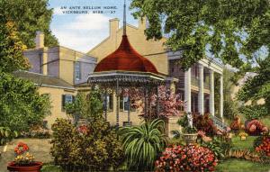 MS - Vicksburg. An Ante Bellum Home