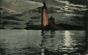 MA - Boston Harbor. Graves Light Lighthouse
