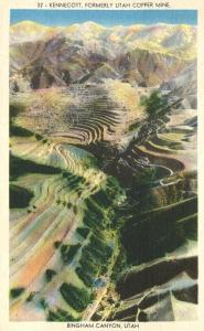 Kennecott Copper Mine - Bingham Canyon, Utah - Linen