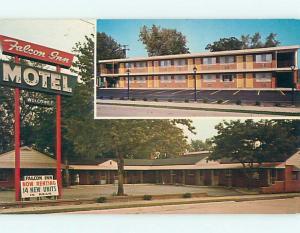 Pre-1980 FALCON INN MOTEL Dearborn Michigan MI s9381