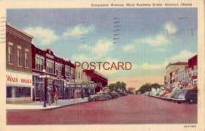 1948 SANGAMON AVENUE, MAIN BUSINESS STREET, RANTOUL, ILLINOIS