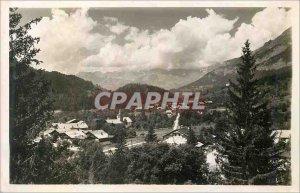 Postcard Modern Servoz La Cathedrale