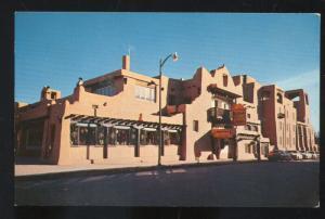 SANTA FE NEW MEXICO LA FONDA HOTEL VINTAGE ADVERTISING POSTCARD OTTERVILLE MO
