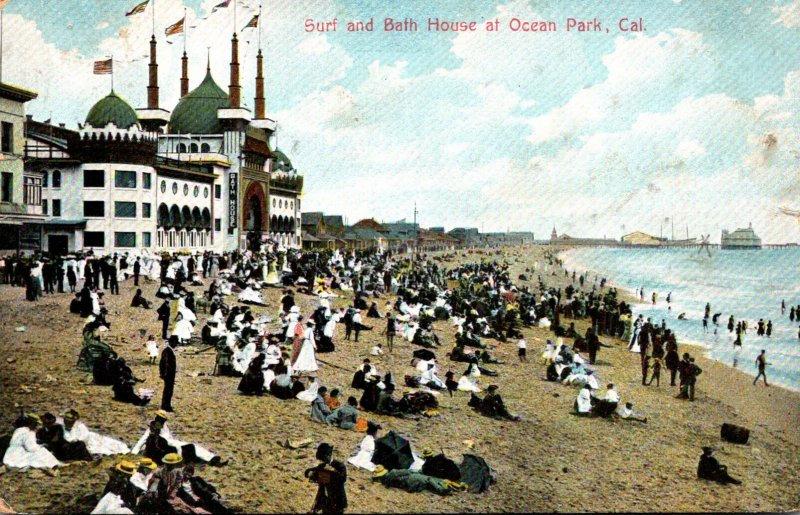 California Ocean Park Surf and Bath House