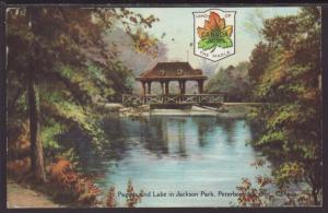 Pagoda,Jackson Park,Peterborough,ON,Canada Postcard