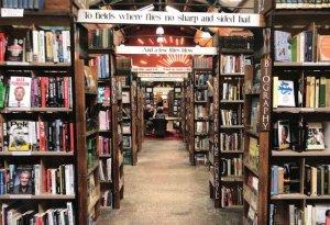 Barter Books Alnwick Bookstore Book Shop Postcard