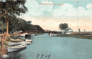 br105846 little canal and lachine canada montreal