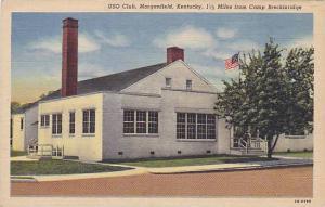 Exterior, USO Club, Morganfield, Kentucky, 30-40s
