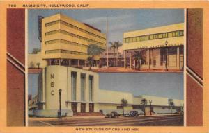 5702 CA Hollywood   Radio City  New Studios of CBS and NBC