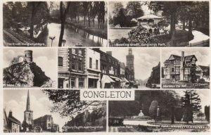 RP: CONGLETON , England , 20-40s ; 7 view Postcard