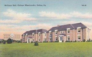 Mcgann Hall College Misericordia Dallas Pennsylvania