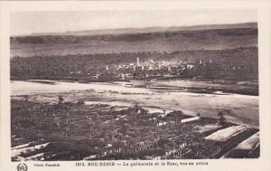 Bou-Denib, La Palmorale et le Ksar, vus en avion, Morocco, 10-20s