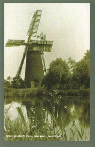 Postcard Nostalgia c1910-18 Windmill at Stalham Hunsett Mill Norfolk Repro Card