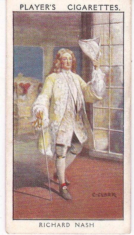 Cigarette Card Player's Dandies No 15 : Richard Nash