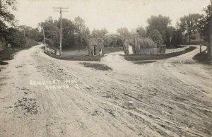 RP: CORWIN , Ohio, 1900-10s ; Cemetery Hill
