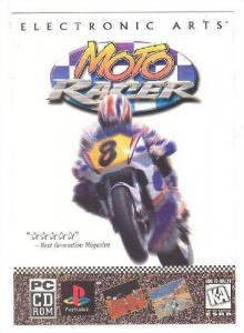 Motorcycle MOTO-Racer Video game , 1997