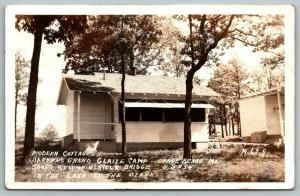 Osage Beach MO~Barber's Grand Glaize Camp~Modern Cottage~Swell Time~1940 RPPC