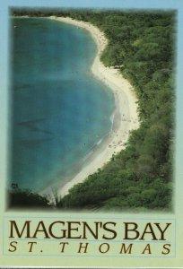 Magen's Bay St. Thomas Virgin Islands Postcard 1980s/1990s
