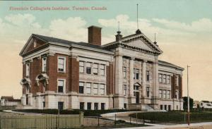 TORONTO , Ontario , 1913 ; Riverdale Collegiate Institute