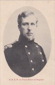 S A R M Le Prince Albert de Belgique