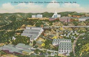 LEAD , South Dakota , 1930-40s ; New Yates Shaft , Mines