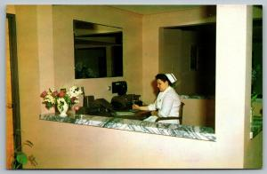 Neshanic New Jersey~foothill Acres Nursing Home~Nurse in Calling Station~1950s