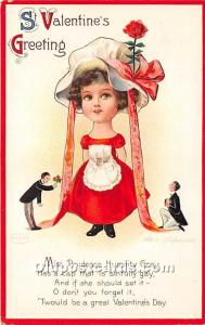 Artist Ellen Clapsaddle Series No 1827 International Art Co. Unused