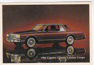 1980 Chevrolet Caprice Classic Landau Coupe
