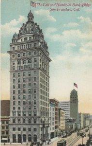 SAN FRANCISCO ,California, 1900-10s ; Call & Humboldt Buildings