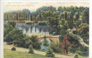 View In Glen Oak Park, Peoria, Illinois, PU-1908