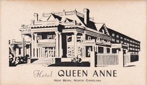 North Carolina New Bern Hotel Queen Anne