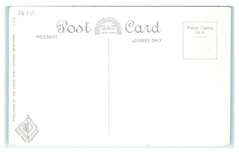 Postcard Maplewood Hotel, Pittsfield MA Mass I1