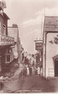 RP; CLOVELLY, Devon, England, 1900-1910's; High Street, New Inn, Tuck