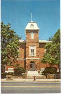 Transylvania County Court House, Brevard, North Carolina, NC, Chrome
