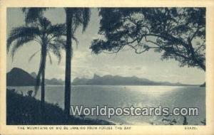 Rio De Janeiro Brazil, Brasil, Bresil Mountains, Across the Bay Rio De Janeir...