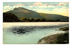 MA - Greenfield. Mt. Sugar Loaf & Connecticut River from Sunderland