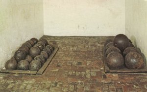 BALTIMORE, MD, 50-60s; Inside the walls, Fort McHenry Natn'l Monument & Historic