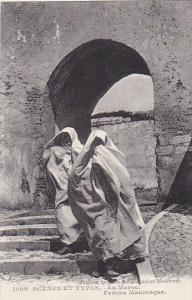 Morocco Scenes et Types Au Maroc Femme Mauresque