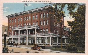 Magog Hotel, Sherbrooke, Quebec, Canada, Early Postcard, Used in 1929