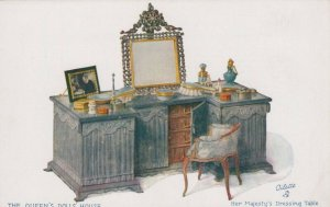 Royalty Postcard - The Queen's Dolls House -Her Majesty's Dressing Table RS24108