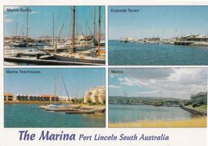 Port Lincoln Marina Fishing Boats Australia Postcard