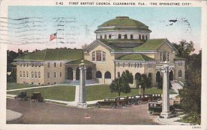 Florida Clearwater First Baptist Church 1927