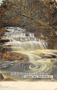 The Sarrine Falls Wurtsboro NY 1907