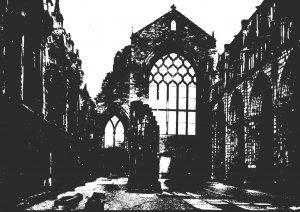 Scotland Palace Of Holyroodhouse Abbey Church Interior